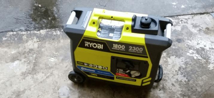 RYOBI 2300 Watt Bluetooth Inverter Generator
