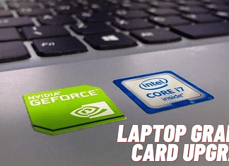 How to change graphics card on laptop