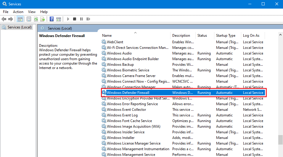 How To Turn Off Firewall Windows 10 4
