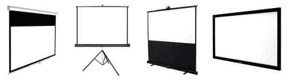 The Best Projector Screen - Buying Guides 1