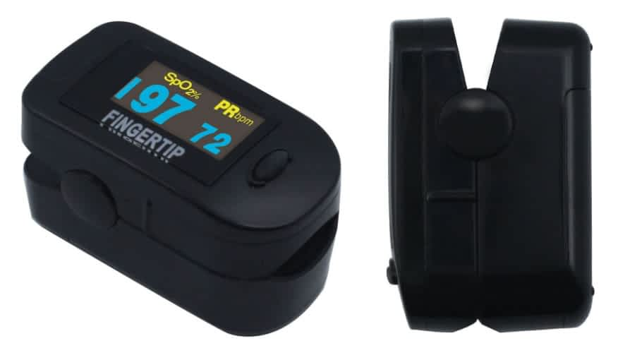 Deluxe Concord Dual Color OLED Display Fingertip Pulse Oximeter