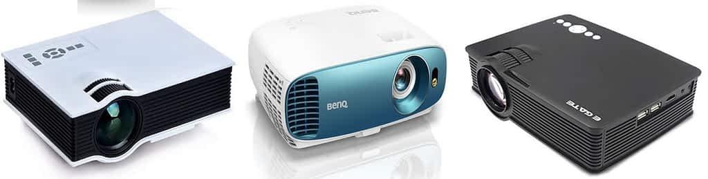 best LED projectors