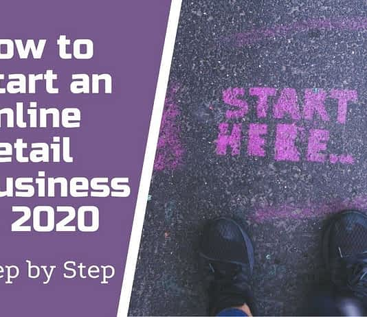 how to start an online retail business