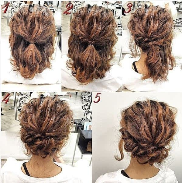 hairstyle for curly hair