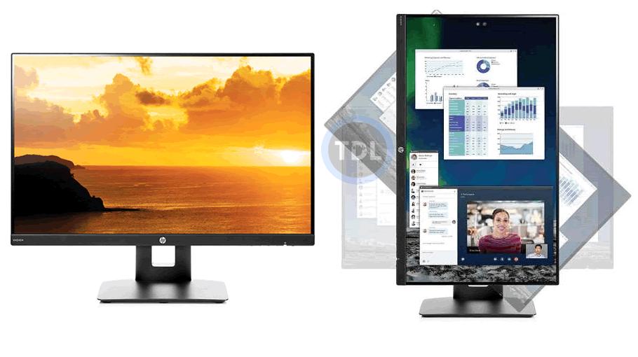 HP VH240a IPS Vertical Monitor