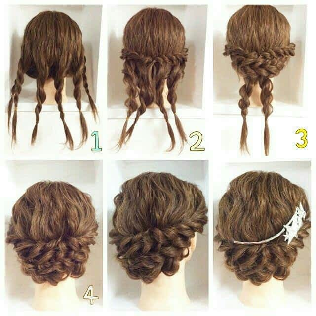 Who Else Wants Easy Hairstyles For Curly Hair Step by Step 1
