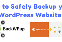 Backup your WordPress Website