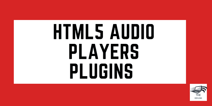 HTML5 Audio Players