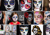 Sugar Skulls Face Paint