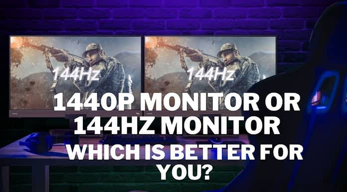 1440p Monitor Or 144hz Monitor