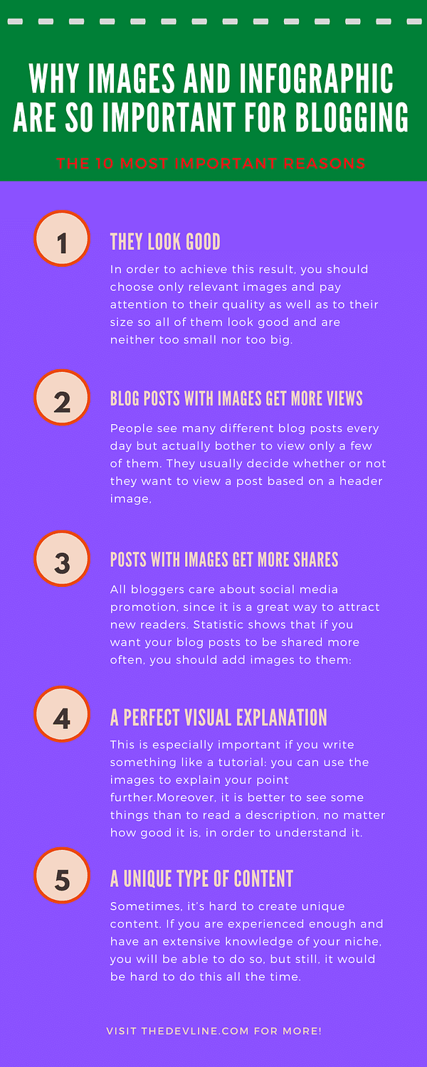 Infographic Are So Important for Blogging