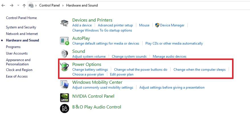 Fix Windows 10 Won't Wake up From Sleep
