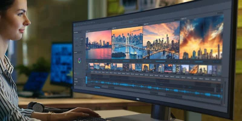 Are curved monitors good for content creation? 2