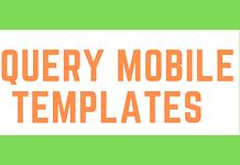 jQuery Mobile Templates