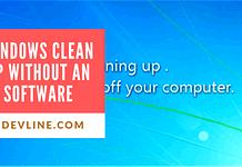 Windows Clean up